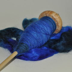 Day 19 - blue mohair
