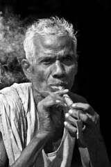 INDIA (Clara Cabezas) Tags: ri portrait blackandwhite bw india blancoynegro face asia retrato cara portrt bn anciano ritratto