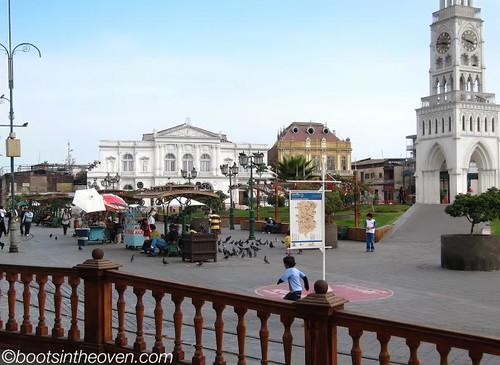 Plaza Prat, Iquique Chile