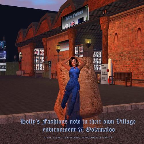 Holly Advert at Oolamoo