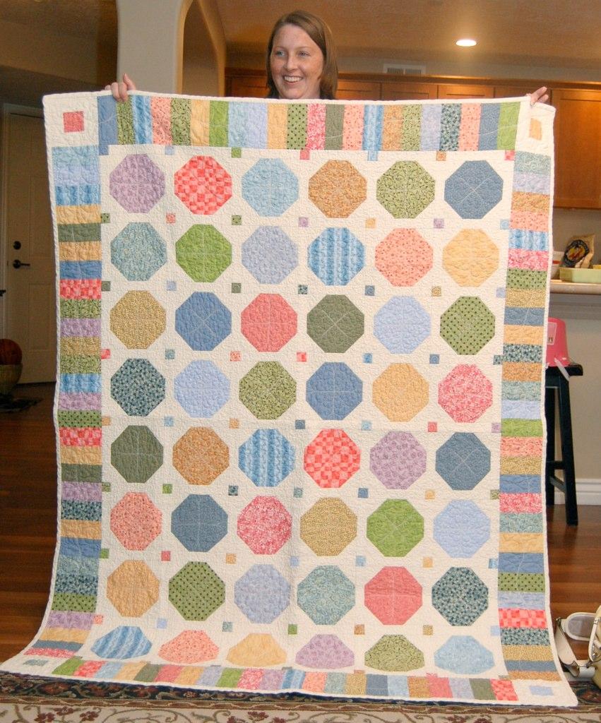 Elizabeth's snowball quilt