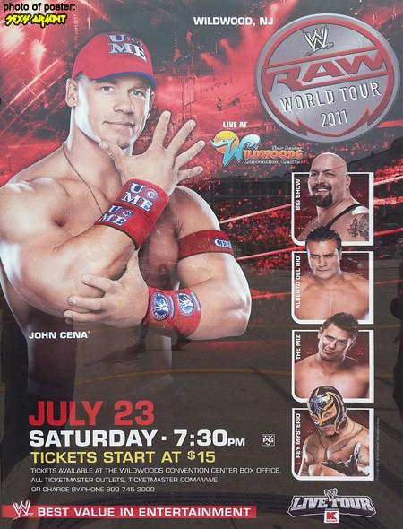 WWE Wildwood Poster 7/23