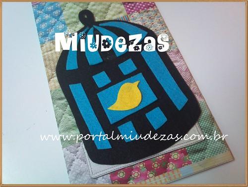 Passarinho em feltro by miudezas_miudezas