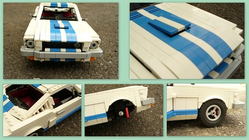 '65 Shelbu Mustang GT 350 (some details)