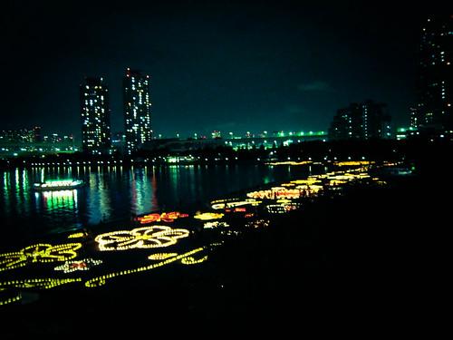Lightup at Odaiba