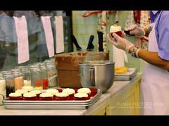 56 *  J (R45h4,) Tags: red white cup canon dubai cream together bakery magnolia mm 1855 confectioner كيك 2011 صانع كوب حلوى 550d احمر كانون ابيض كريمه r45h4