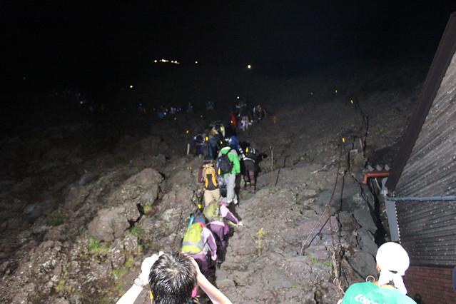富士山8合目