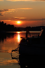 The view from our Boat last night (AdurianJ) Tags: pictures sunset summer water canon islands boat europa europe sweden stockholm dslr scandinavia suecia archipelago lenses   wow1 wow2 wow3 wow4 2011  stockholmarchipelago nrdico escandinavia    mygearandme  adurianj magicalskiesmick