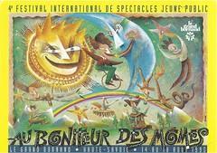 Affiche Festival Au Bonheur des Mômes-1995