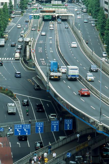 渋谷の幹線