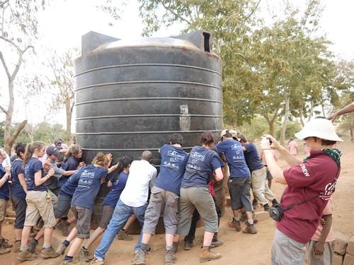 Sasenyi water tanks...