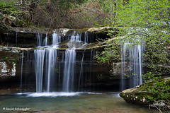 Upper Cascade in Spring (schwaegler) Tags: waterfall illinois spring il harrisburg shawneenationalforest burdenfalls