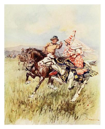 019-Un cortejo Kirghis- Provincial Russia-1913- F. de Haenen