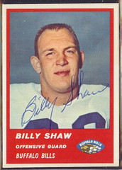 1963 Fleer - 28 - Billy Shaw