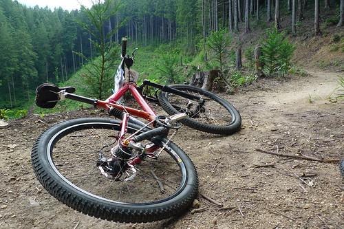 Hidekky's KLEIN in URA-YAMA Trail