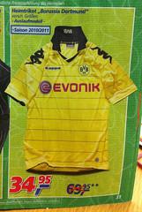 Borussia Dortmund (BVB): Trikot der Bundesliga-Saison 2010-2011 im Angebot bei real
