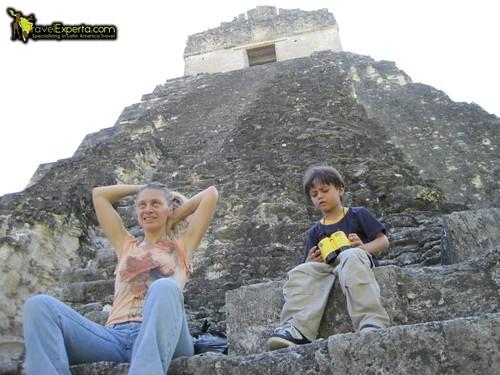 Heat Break in Tikal