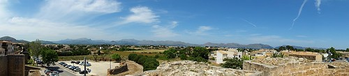 View from the walls of Alcudia