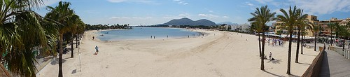 Port de Alcudia sandy beach