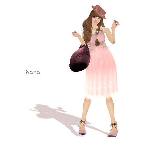 "::c.A.:: Atmosphere dress ""Pink""(LB)"