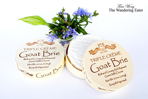 Triple Creme Goat Brie