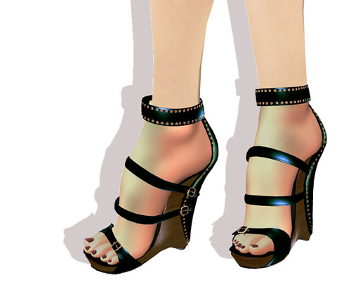 *MJS* Rebelious Wedge GREEN