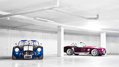 Snake Cellar (Thomas van Rooij) Tags: lighting blue light cars dutch car club underground photography nikon cobra purple photoshoot thomas muscle snake garage nederland automotive replica exotic american ac cellar supercar v8 dax exotics supercars combo roadster fotoshoot ccn d90 rooij worldcars thomasvanrooij trojeiro