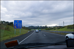 On the Northern Motorway (SH1)