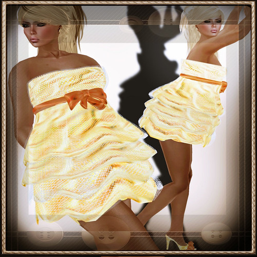 A&A Fashion Dolores [Sculpted]Dress Yellow