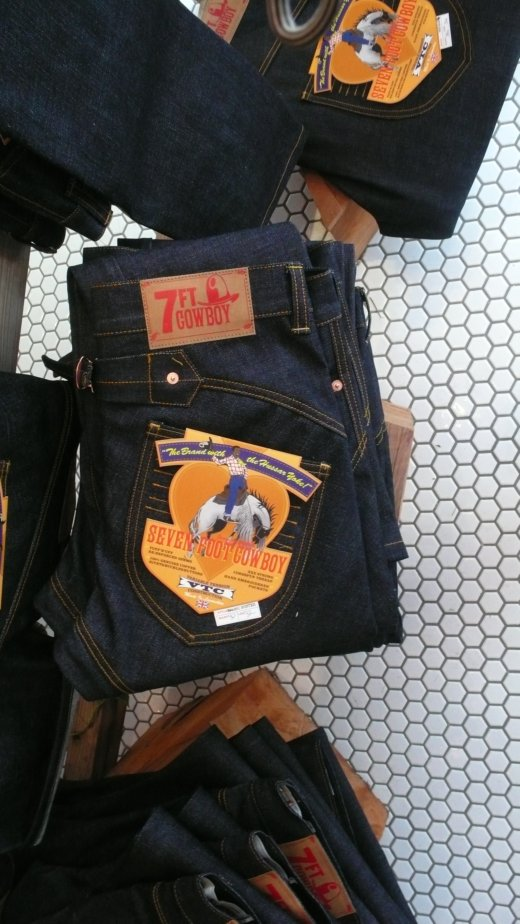 Seven Foot Cowboy - Pokit's new denim range
