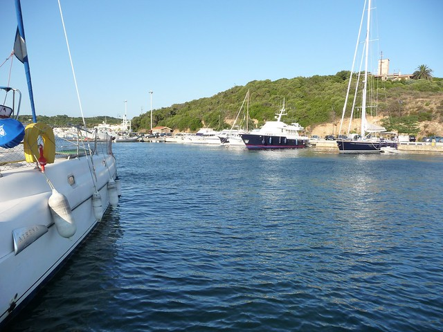sailing in Sardinia & Sicily - July 2011