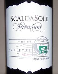 ScaldaSole Premium Malbec 2008 – Para no despreciar