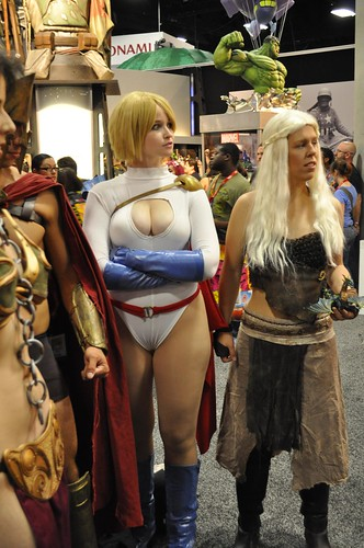 Game Of Thrones Powergirl And Daenerys Targaryen From Game Of Thrones