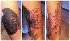 5D Mark II Camera Tattoo (seerich) Tags: tattoo ink photography 5d markii