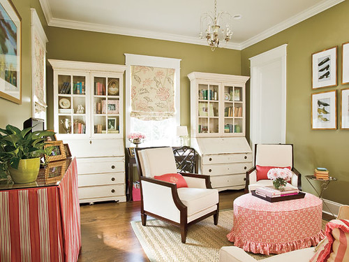 Southern Living Skirted Table
