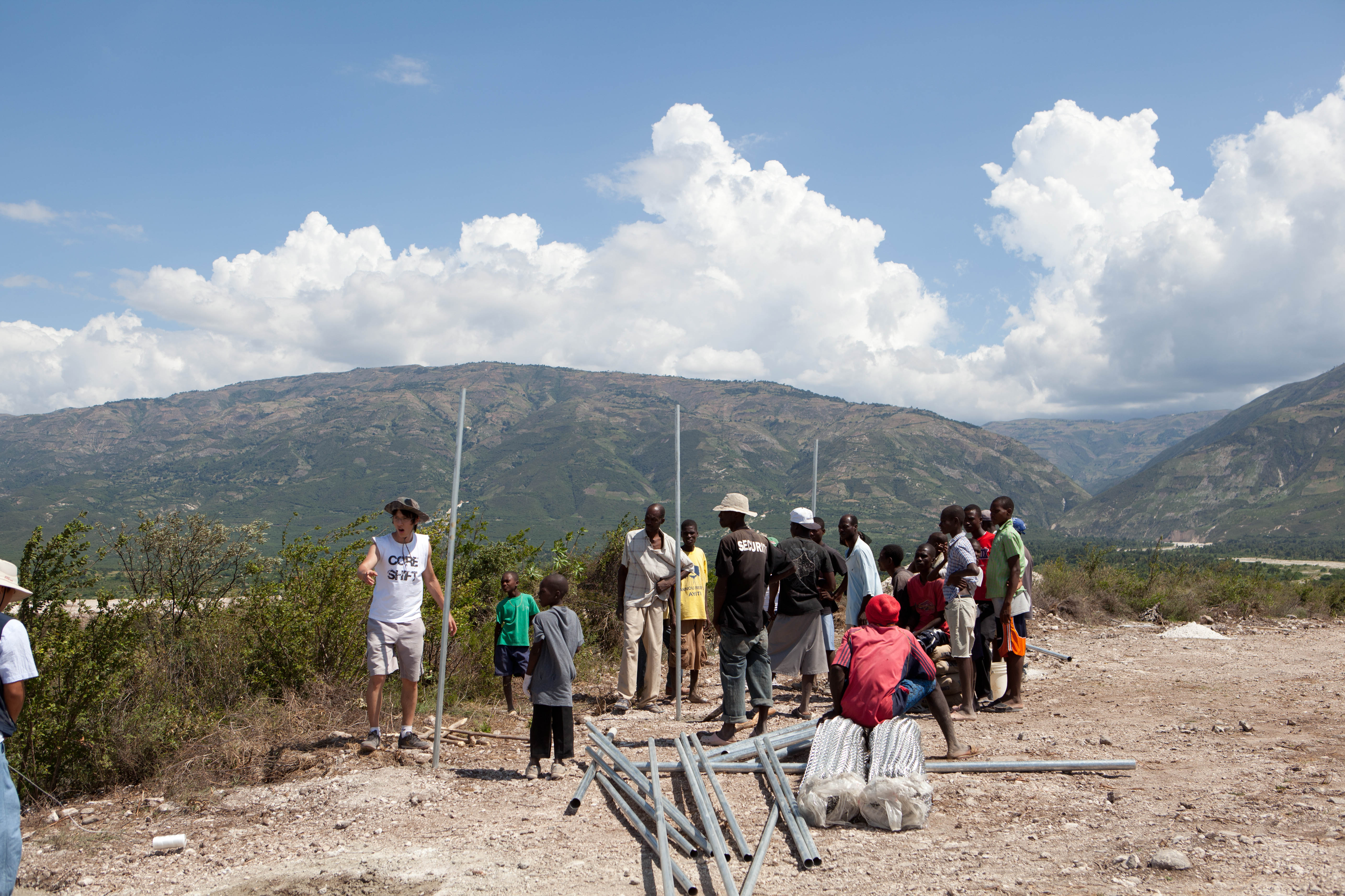 2011 아이티단기선교 건축현장 (9)