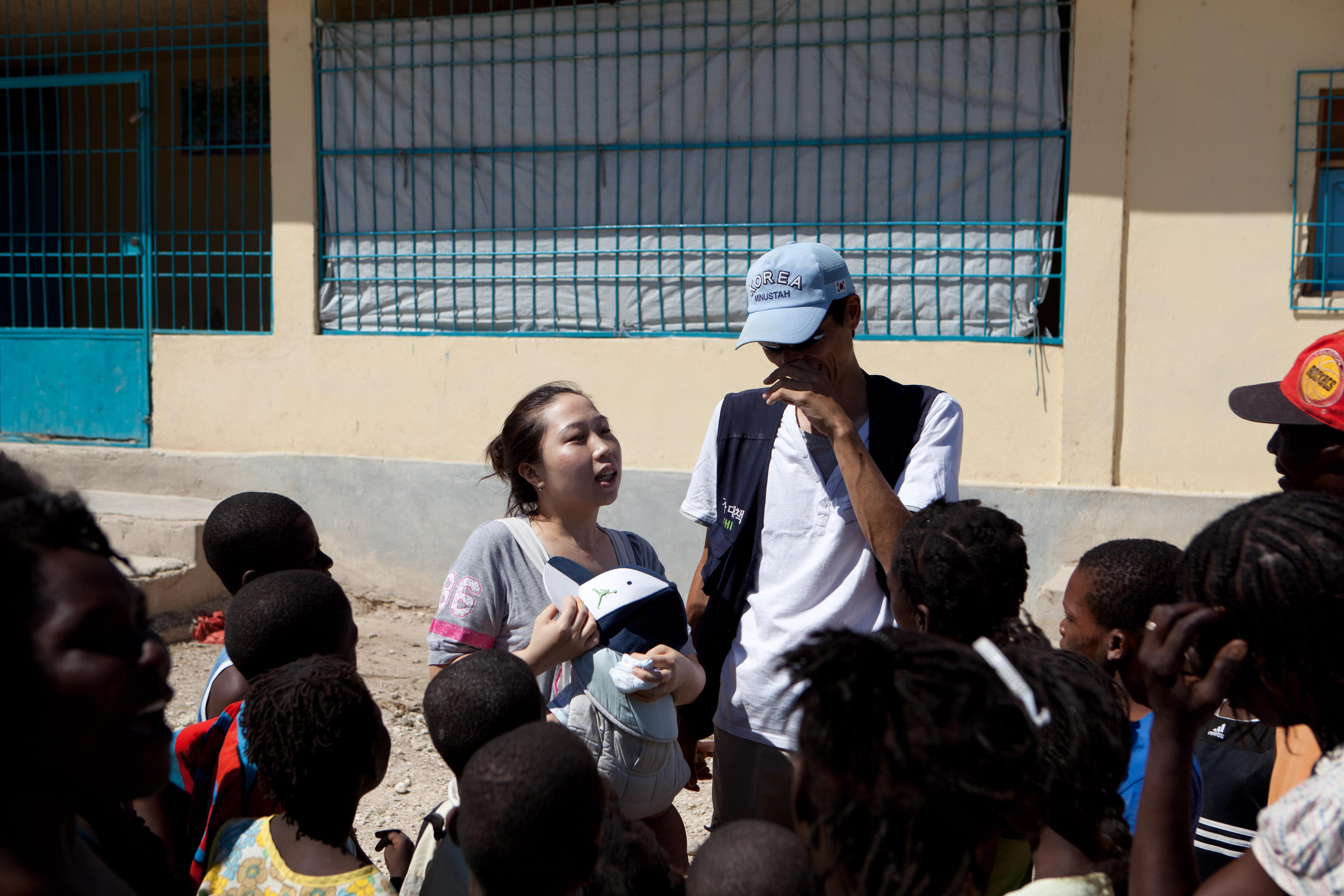 2011 아이티단기선교 어린이사역 (9)