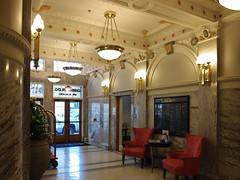 Lobby of the Indigo Hotel where we stayed in San Antonio,USA P7140235A (Aleksander & Milam) Tags: sanantonio hotel indigo