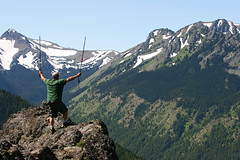 There was a view to be had on this day! (McCoy352) Tags: hiking views sweat snowfields goodfun olympicnationalforest nobugs buckhornwilderness toughclimb mounttownsend sunnyconditions dirtyfaceridgetrail
