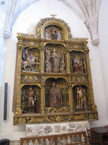 Iglesia de San Juan Evangelista - Retablo gótico 2