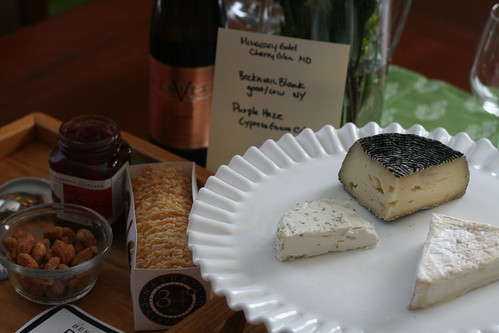 all-american goat cheese board