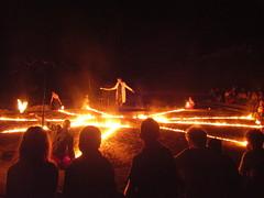 Le Rve (Toyzr) Tags: night fire nuit feu charente spectacle chorgraphie 2011 poitoucharente conseilgnral lerve lasalamandre cg16 thtredesbouchauds nuitsarcho