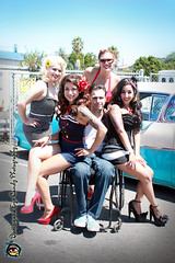 Todd and Pin Up Girls 01 (bumzigana) Tags: girls cars modeling competition 50s pinup carshow hodrod