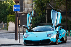 Lamborghini Murcielago SV 266/350 (Valkarth) Tags: auto summer paris france car canon eos julien amazing italian automobile europe dubai doors open mark turquoise dream sigma kingdom automotive voiture khalifa arab coche arabe lp saudi mk2 5d q qt julius lamborgh