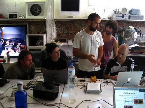 open hardware lab taught by alex posada