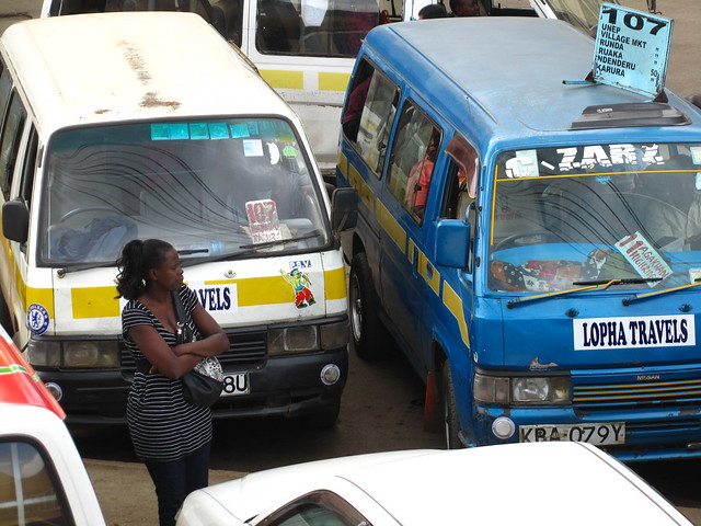 Matatus in Kenya