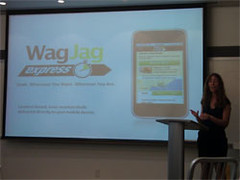 Candice Faktor at the WagJag Express Announcement