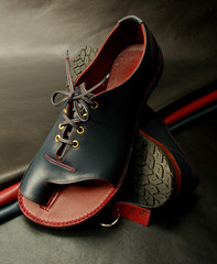 Navy and red Italian leather Wide Lace-up Shandals (Alan James Raddon) Tags: uk alan wales shoe for james shoes hand handmade sandals made maker measure hande shoemaker raddon bunions shandals wideshoes bespokeshoes wideshoesforwomen alanjamesraddon extrawideshoes shoes bunions verywideshoes broadshoes verybroadshoes broadfittingshoesuk widefittingshoesuk