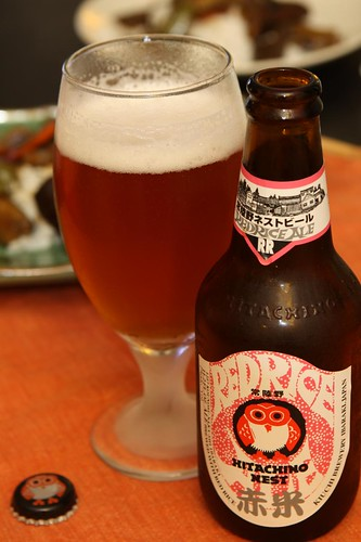 Hitachino Nest Red Rice Ale from Kiuchi Brewery