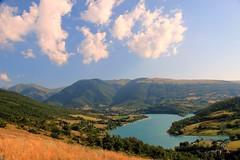 (claudiophoto) Tags: italy panorama lake landscape lago acqua marche paesaggio monti sibillini fiastra colorphotoaward